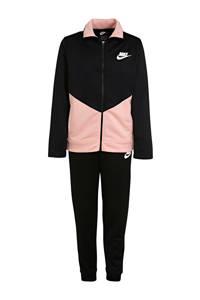 Nike   trainingspak zwart/roze, zwart/licht koraal/wit