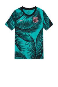 Nike Junior FC Barcelona Voetbal T-shirt groen/zwart, Groen/zwart