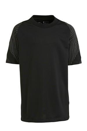 Junior  Voetbalshirt zwart/antraciet