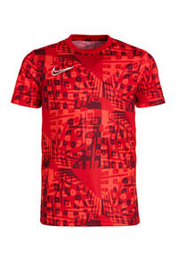 Nike   voetbal T-shirt rood, Rood