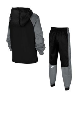 trainingspak zwart/grijs