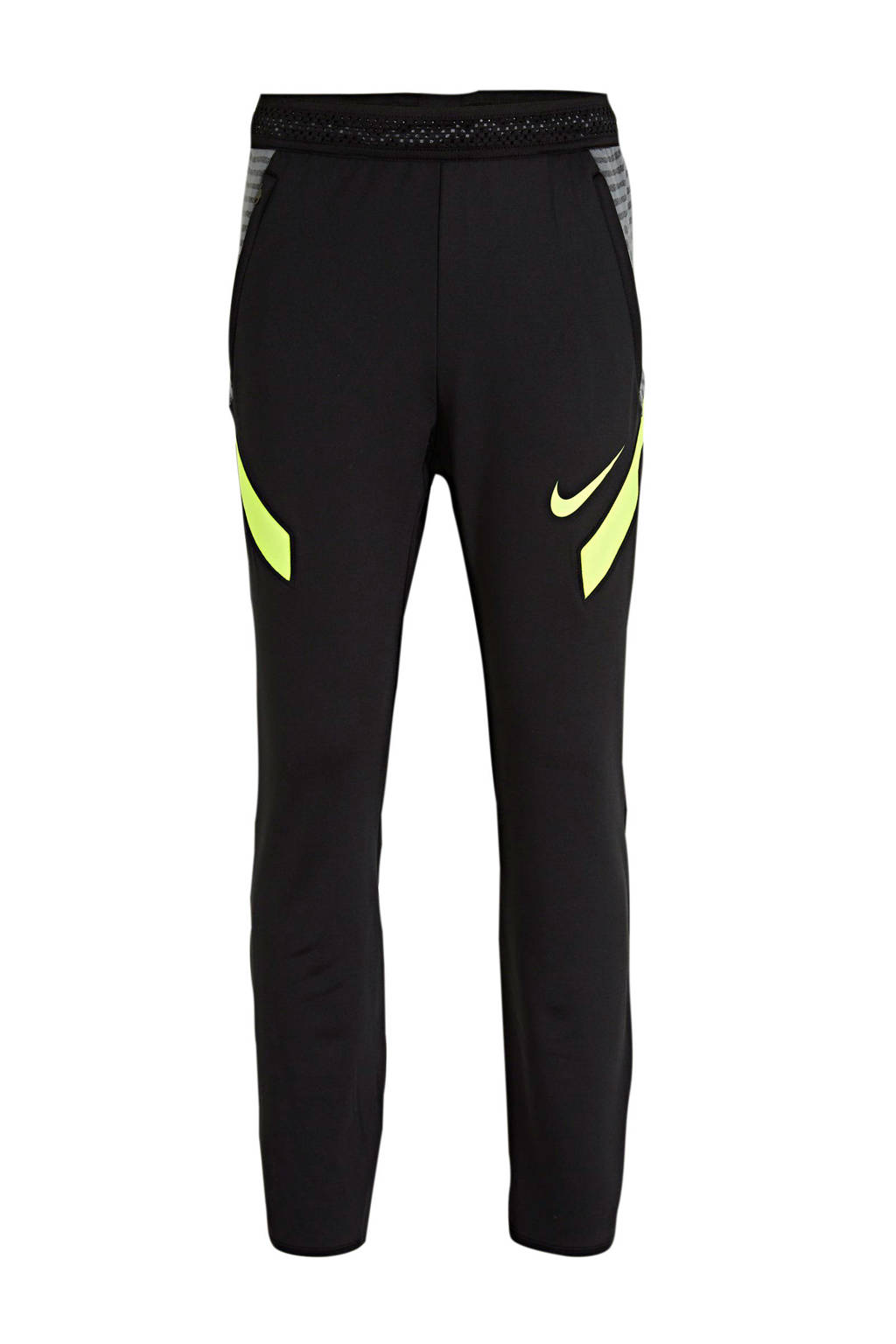 Nike Junior  voetbalbroek zwart/grijs/lime, Zwart/grijs/lime