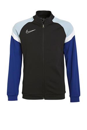 sportjack zwart/blauw/wit
