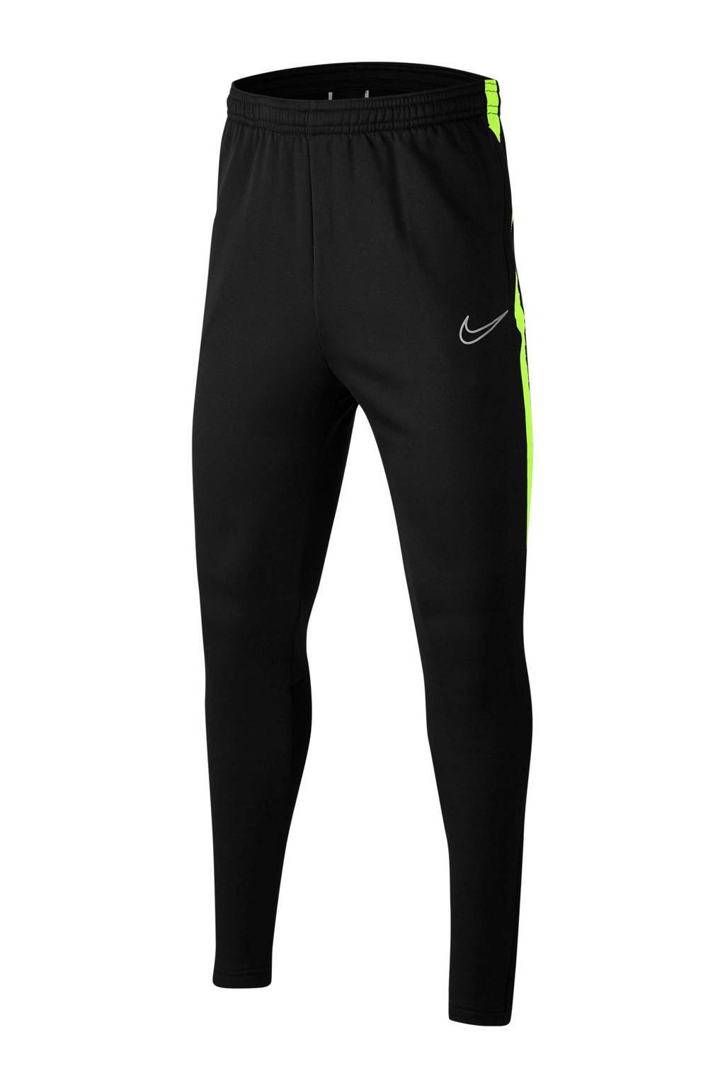 Nike   voetbalbroek zwart/lime, Zwart/lime