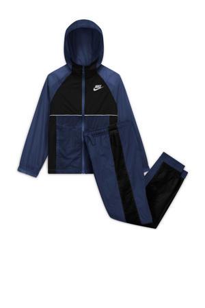 trainingspak donkerblauw/zwart
