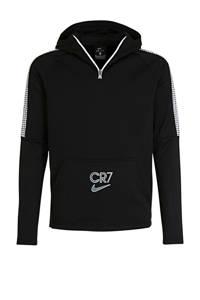 Nike Junior  voetbal hoodie zwart, Zwart
