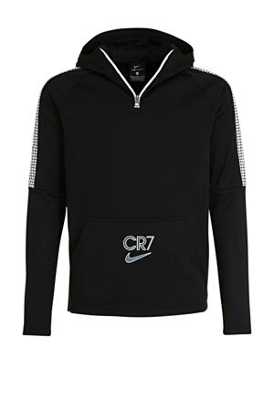 Junior  voetbal hoodie zwart
