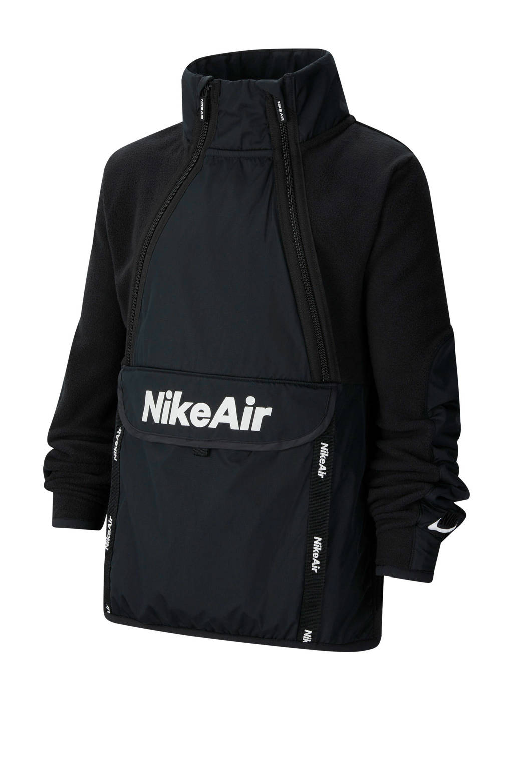 Nike jack zwart, Zwart