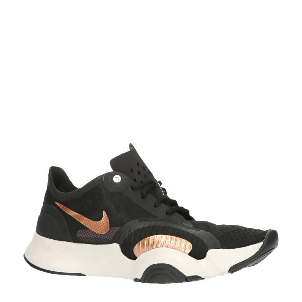 Nike Air Zoom SuperRep Go fitness schoenen zwart/wit/koper, Zwart/wit/koper