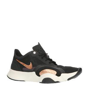 Air Zoom SuperRep Go fitness schoenen zwart/wit/koper