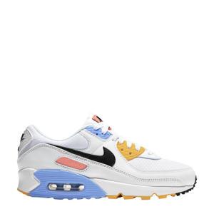 Air Max 90 sneakers wit/zwart/zilver