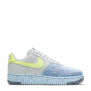 Air Force 1  sneakers blauw/grijs/geel