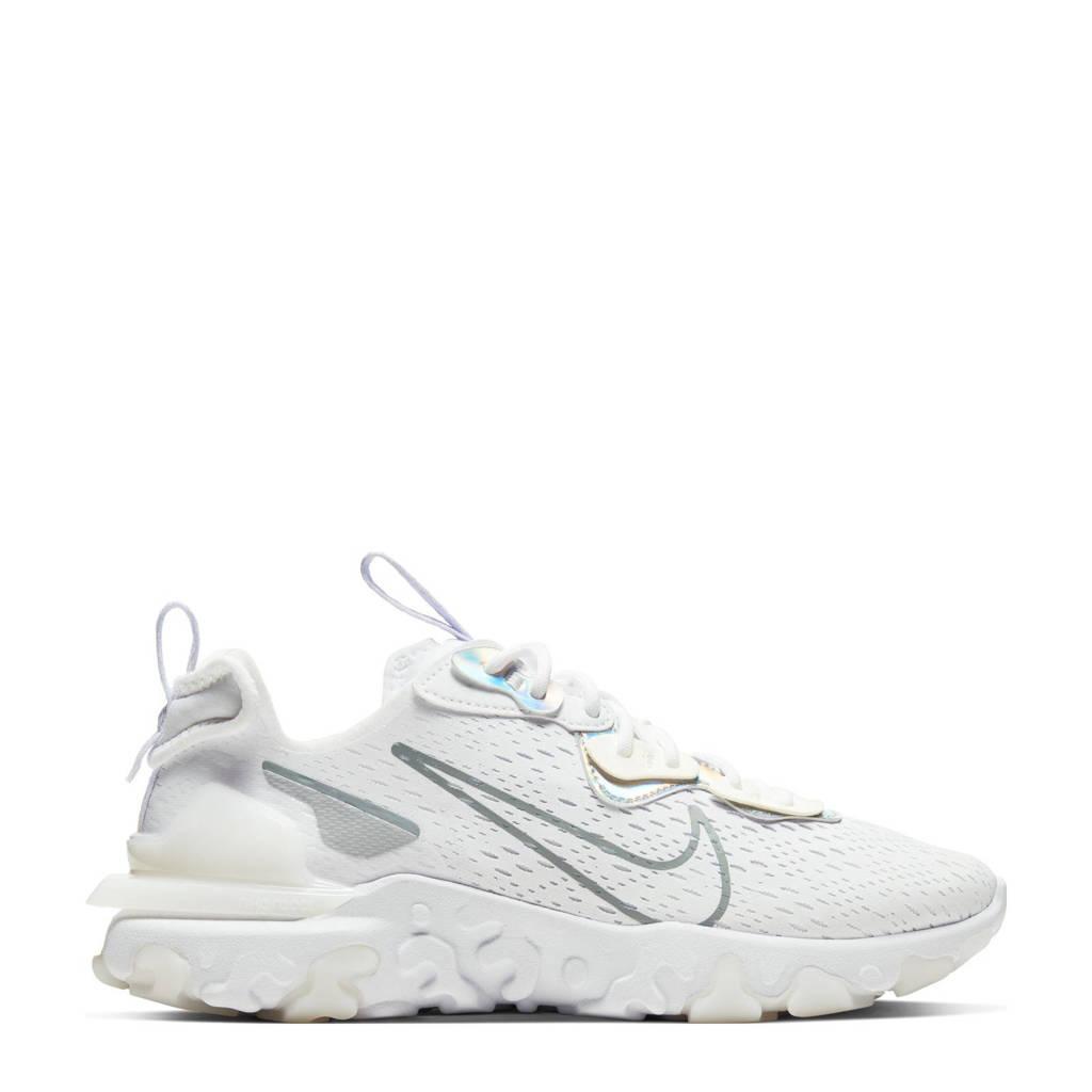 Nike NSW REACT  Vision Ess sneakers wit/grijs, Wit/grijs