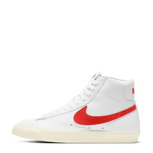 Blazer Mid '77 sneakers wit/rood