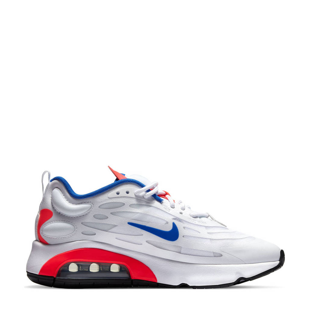 Nike Air Max Exosense sneakers wit/blauw/rood, Wit/blauw/rood