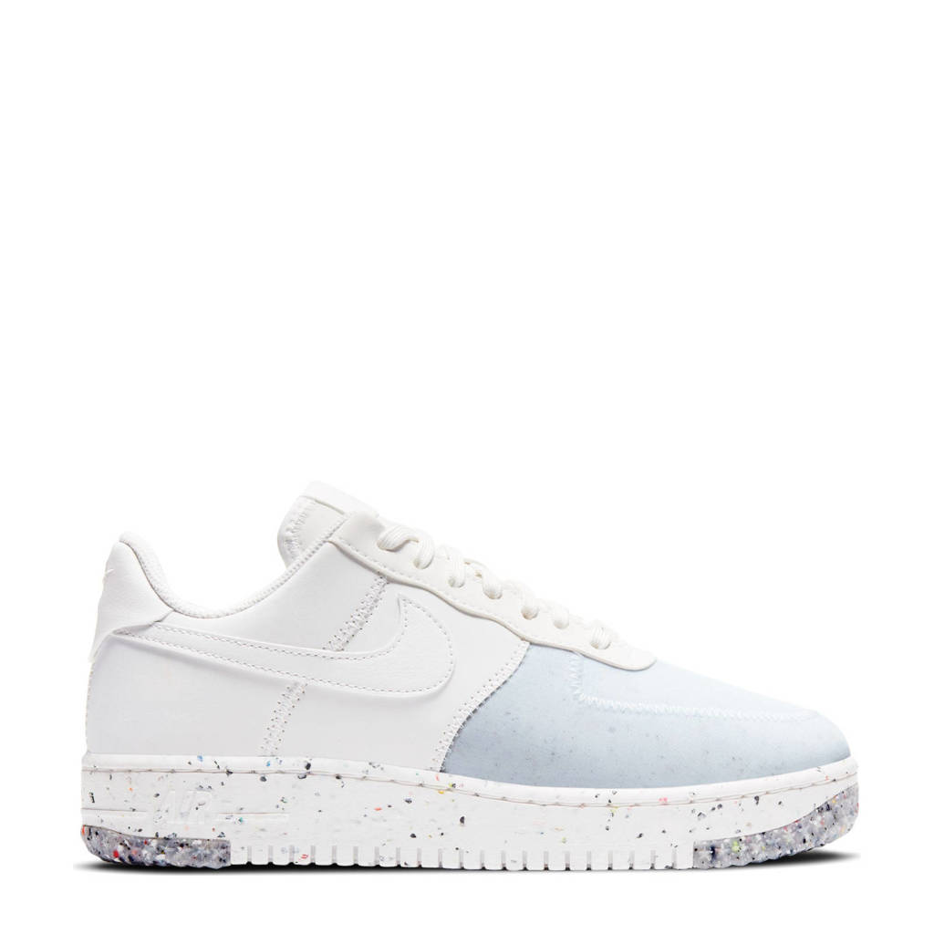 Nike Air Force 1  sneakers wit/lichtblauw, Wit/lichtblauw