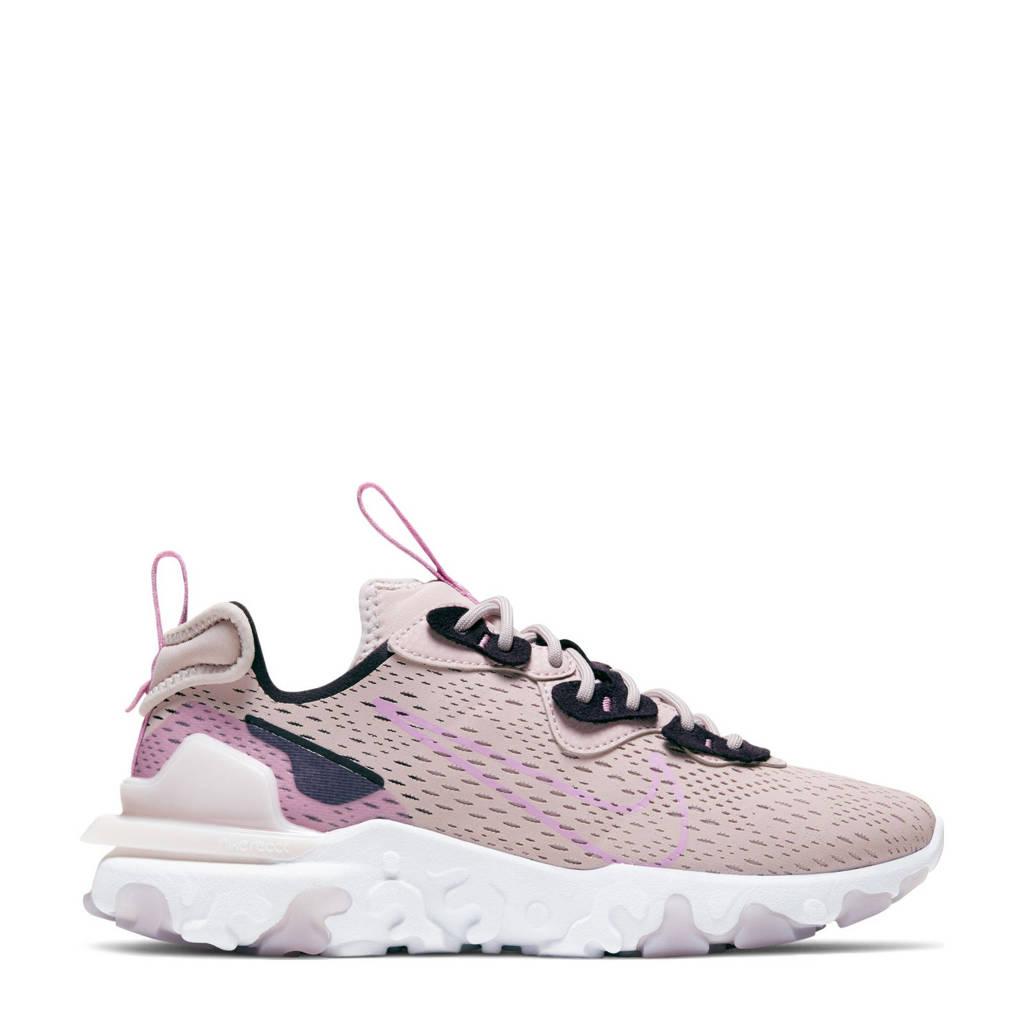 Nike React Vision  sneakers oudroze/roze, oudroze/roze/zwart