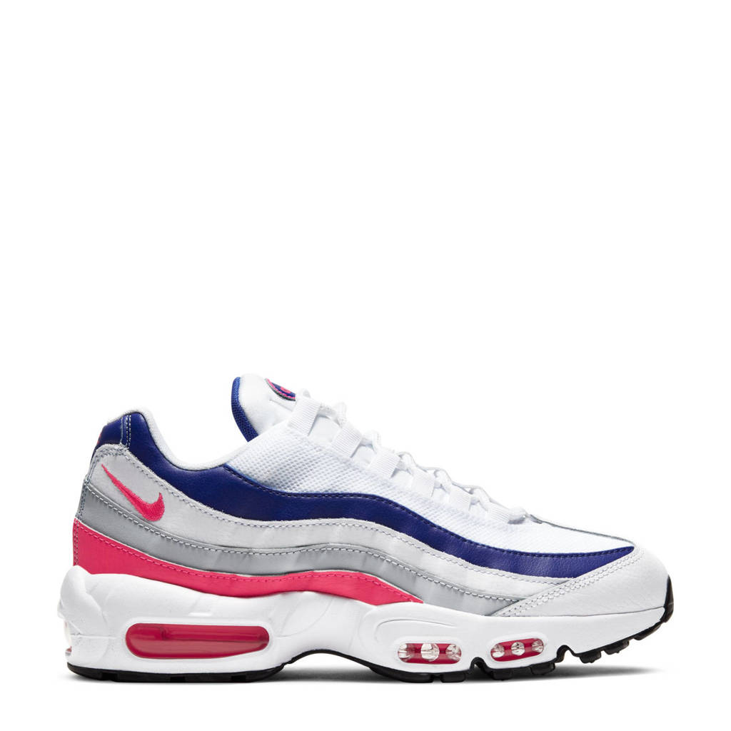 Nike Air Max 95  sneakers wit/roze/platina, Wit
