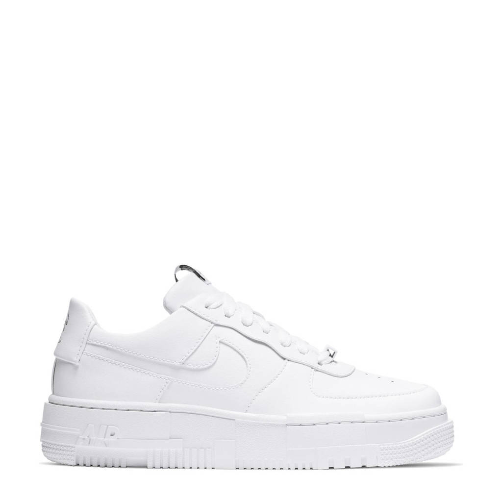 Nike Air Force 1 Pixel sneakers wit, Wit
