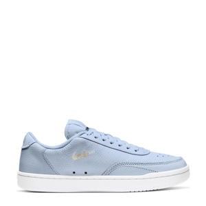 Court Vintage Premium  leren sneakers lichtblauw
