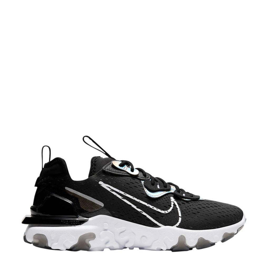 Nike NSW REACT  Vision Ess sneakers zwart/wit, Zwart/wit