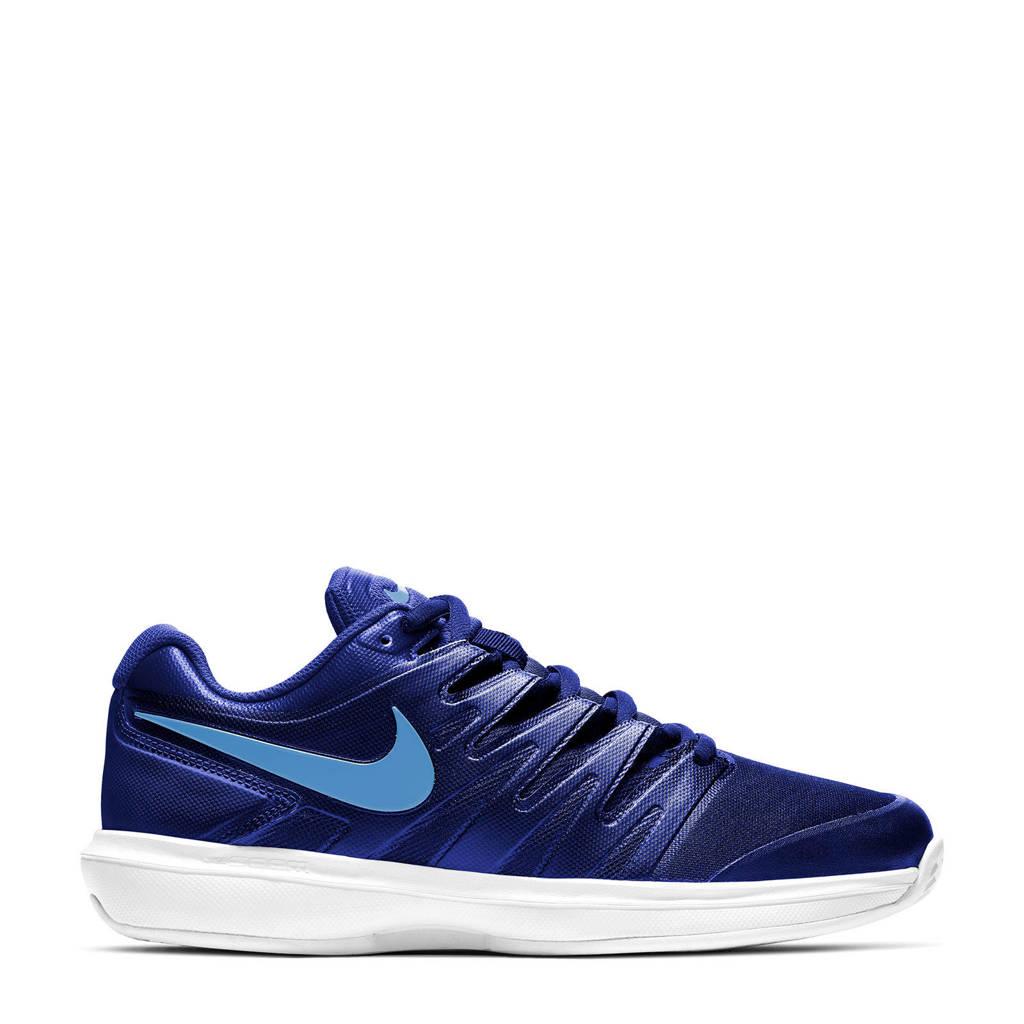 Nike Court Air Zoom Prestige tennisschoenen blauw/kobaltblauw/wit, Zwart/wit/geel