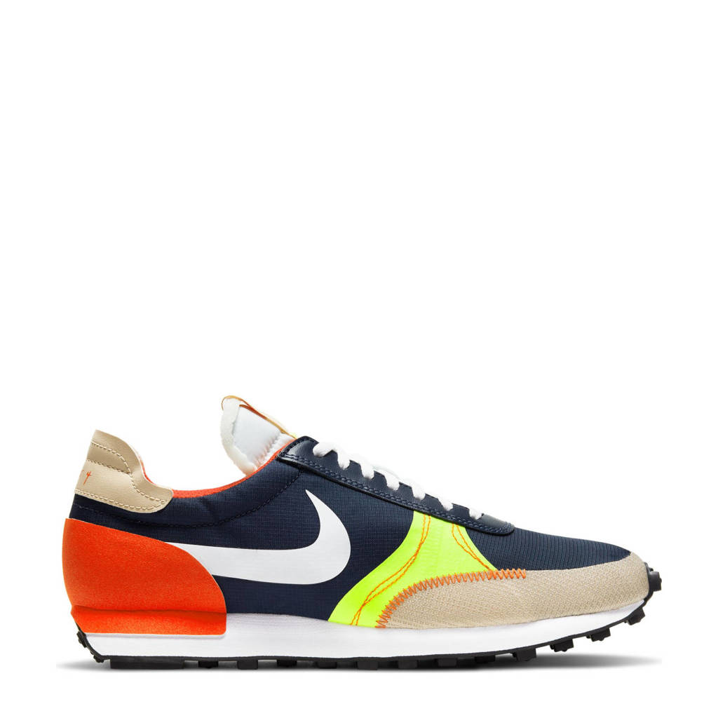 Nike DBReak -Type sneakers donkerblauw/wit/geel, Donkerblauw/wit/geel/rood