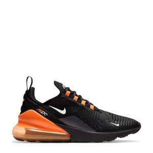 Air Max 270 sneakers zwart/oranje/zilver