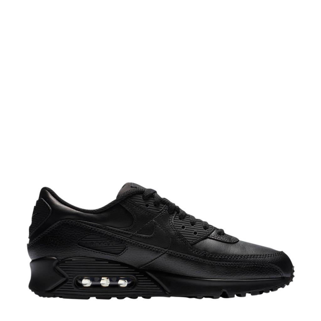 Nike Air Max 90 Ltr leren sneakers zwart, Zwart