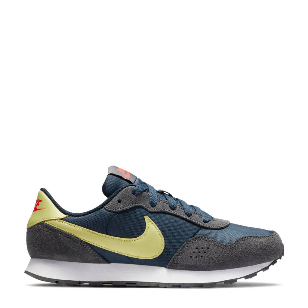 Nike MD Valiant (GS) sneakers blauw/geel/grijs, Blauw/geel/grijs