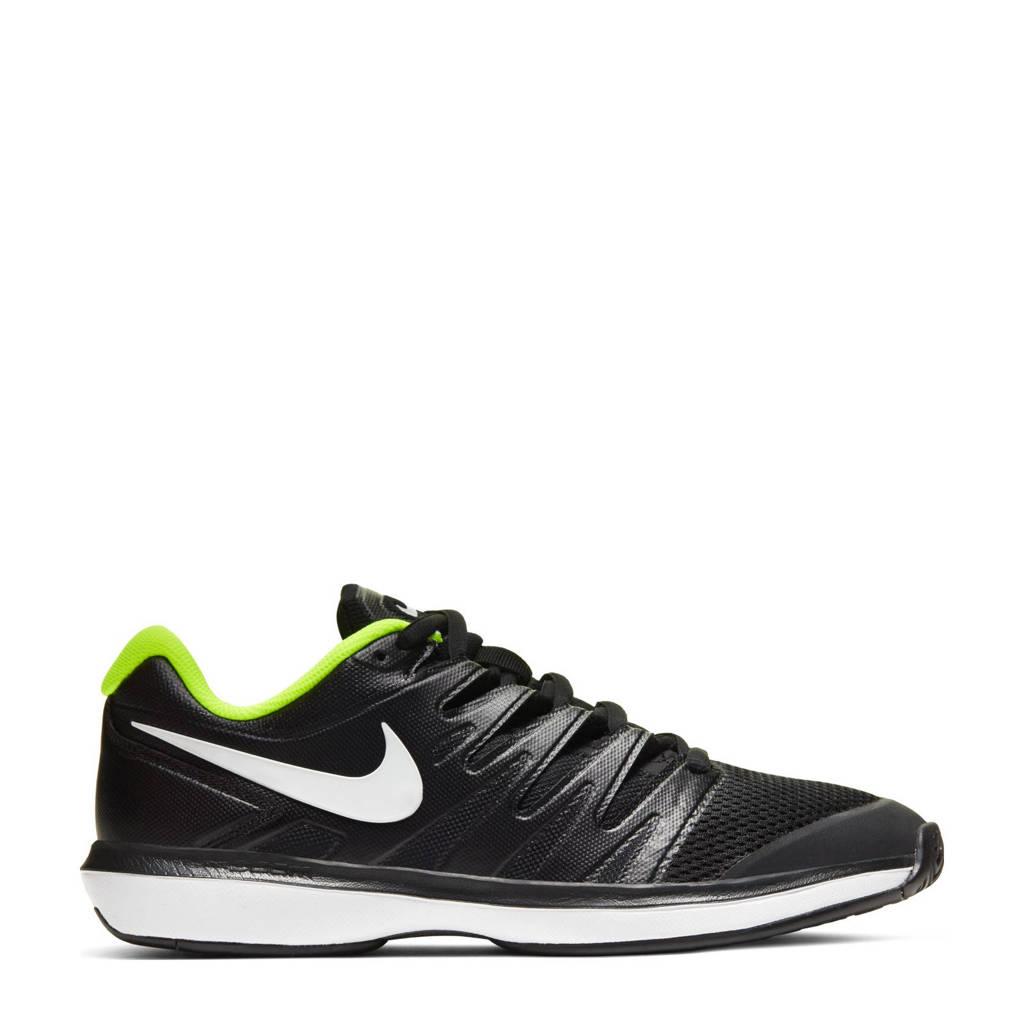 Nike   tennisschoenen zwart/wit/geel, Zwart/wit/geel