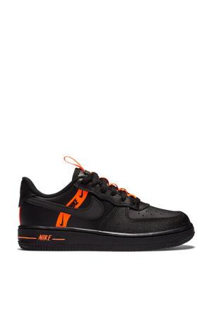 sneakers zwart/oranje