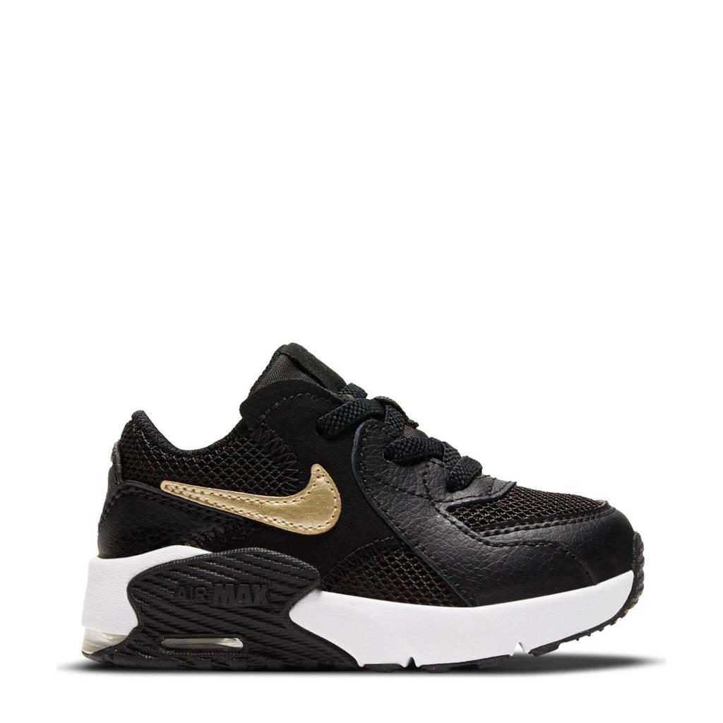 Nike Air Max Excee sneakers zwart/goud/wit, Zwart/goud/wit