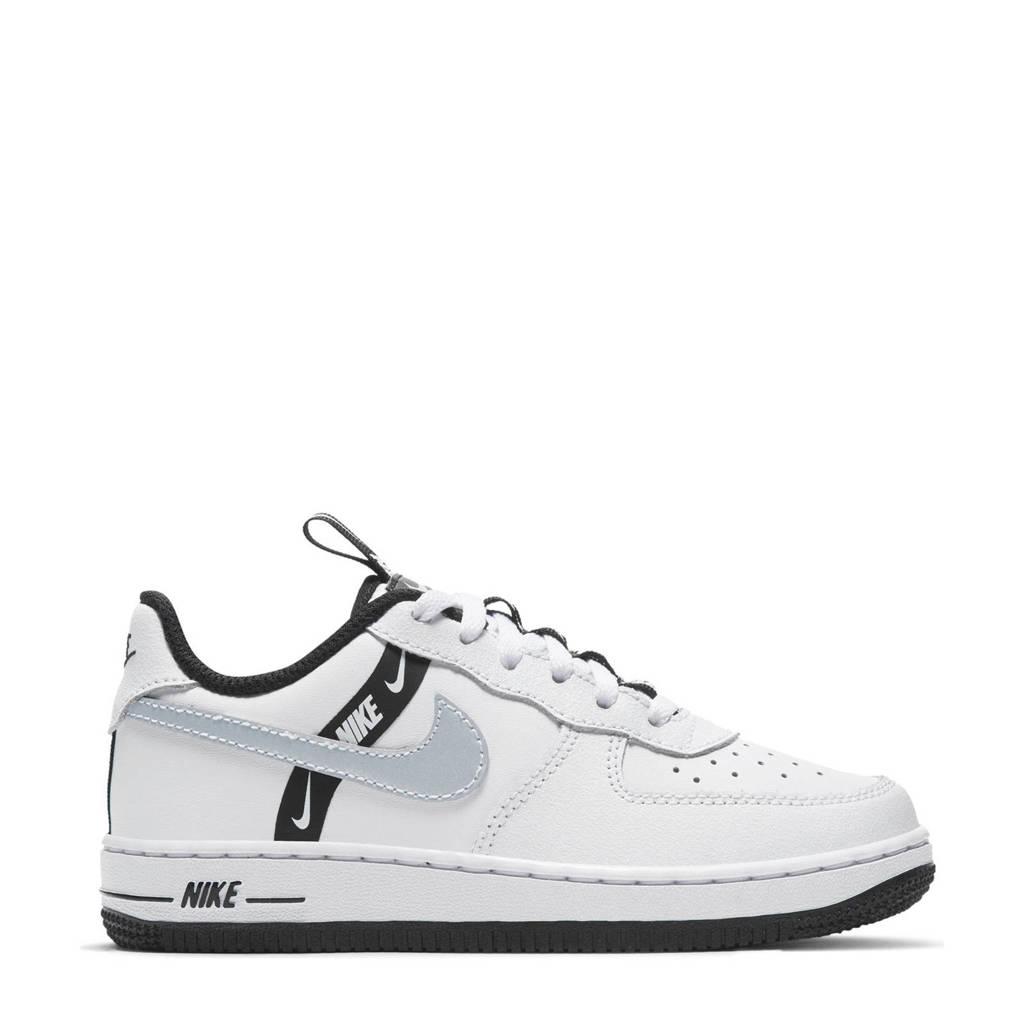 Nike Force 1 LV8 KSA (PS) sneakers wit/zwart, Wit/zwart