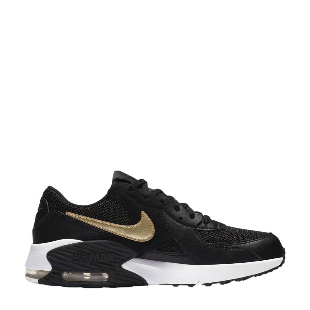 Nike Air Max Excee (GS) sneakers zwart/goud/wit, Zwart/goud/wit