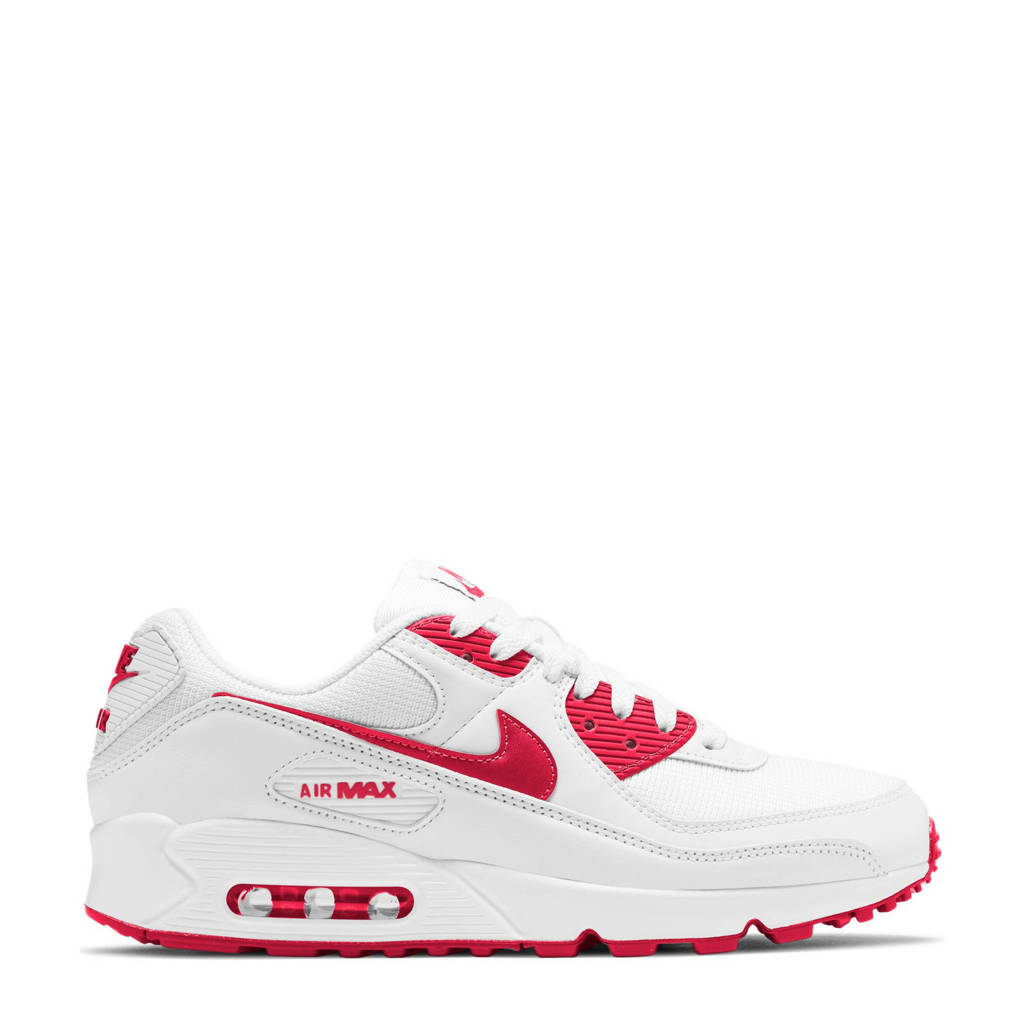 Nike Air Max 90  sneakers wit/rood, Wit/rood