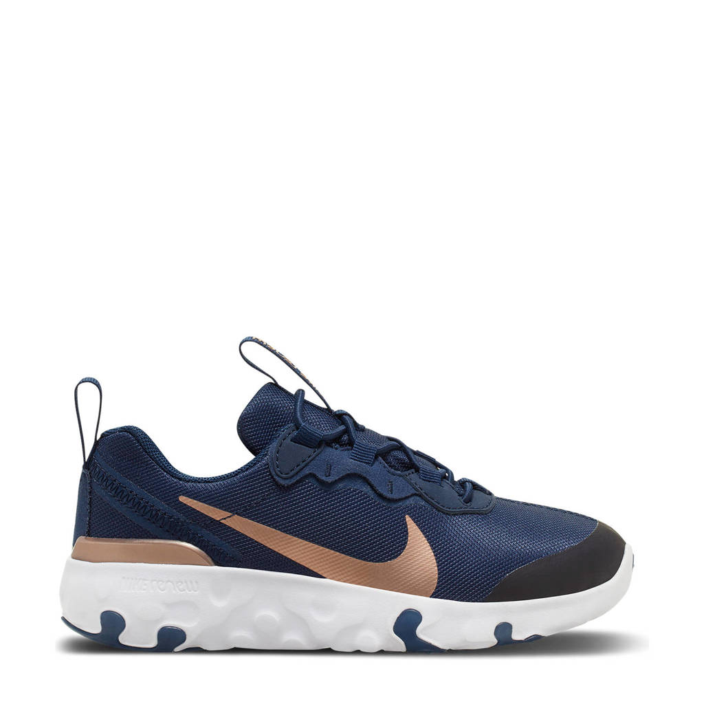 Nike RENew Element 55 - PS sneakers donkerblauw/brons