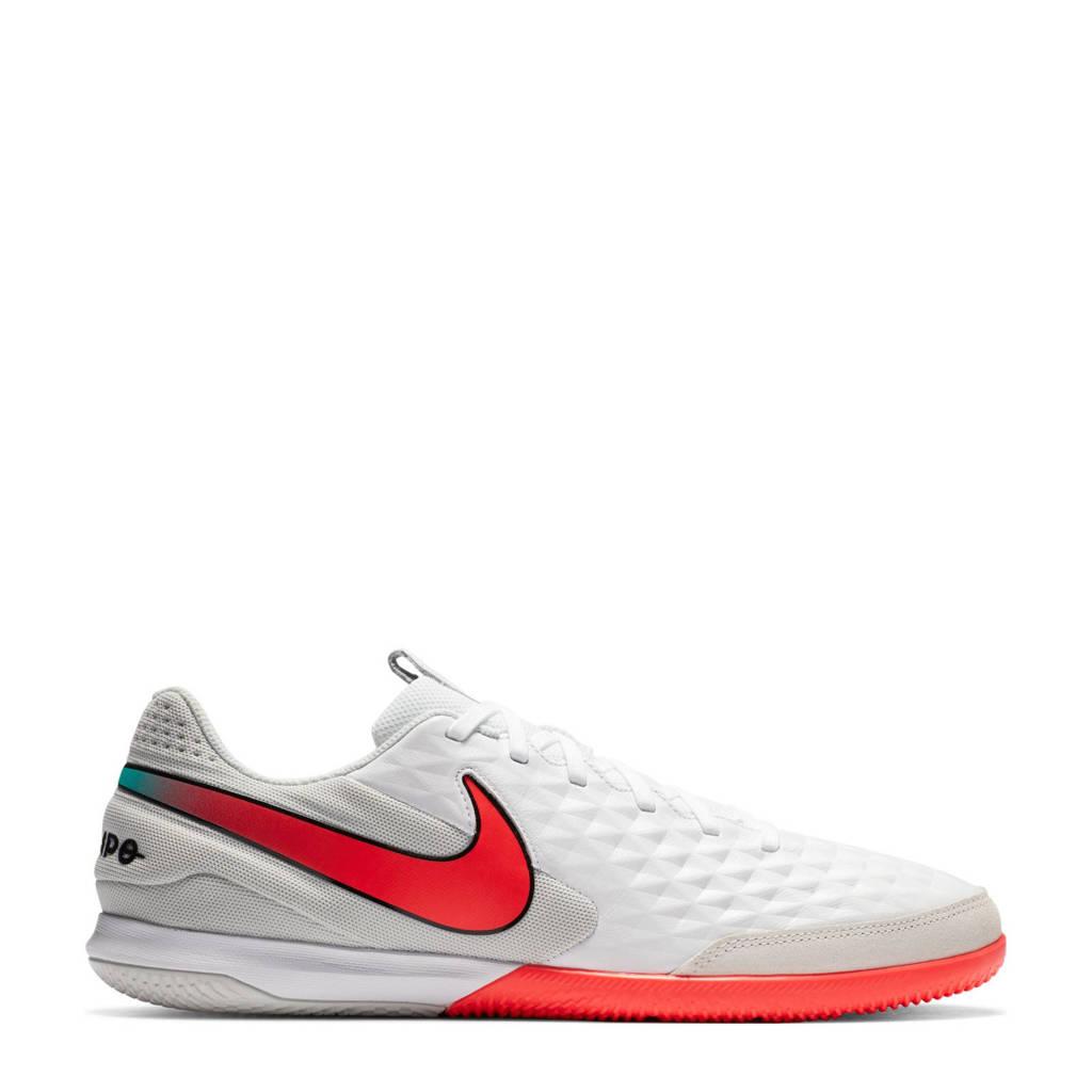 Nike Tiempo Legend Academy ic Sr. zaalvoetbalschoenen wit/rood, Wit/rood