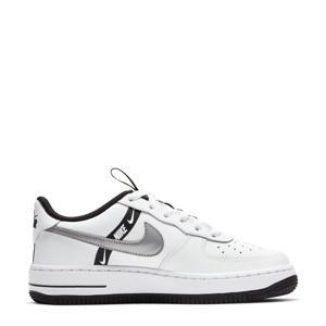 Air Force 1 LV8 sneakers wit/zwart/zilver