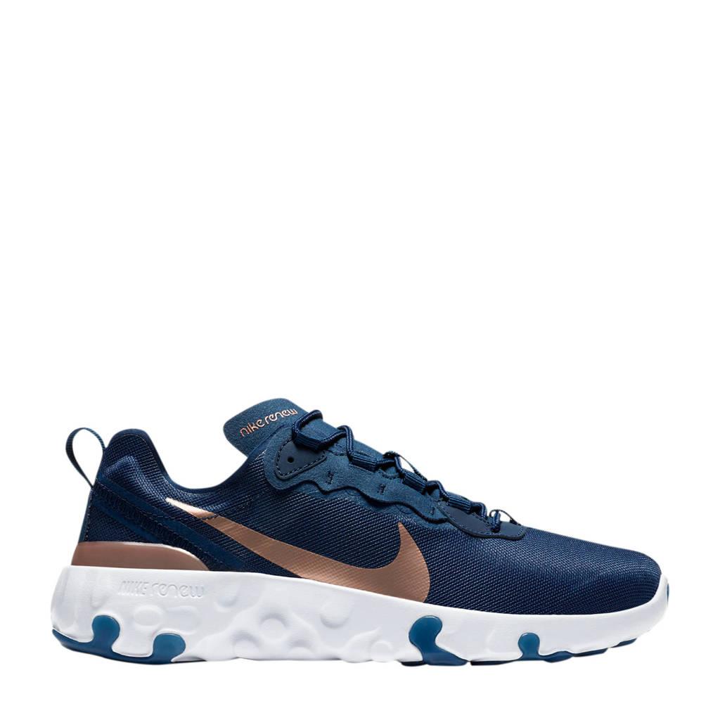 Nike RENew Element 55 (GS) sneakers donkerblauw/brons