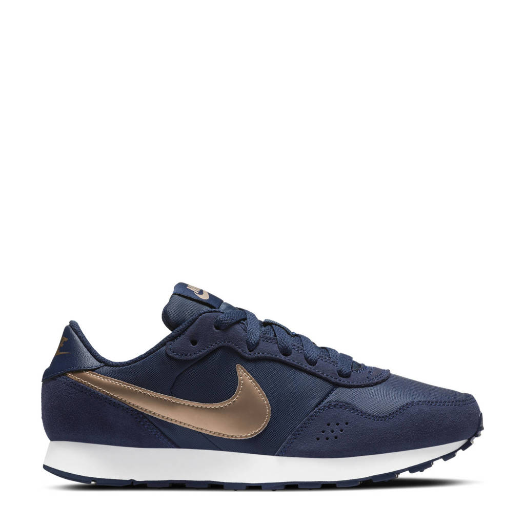 Nike MD Valiant (GS) sneakers donkerblauw/koper