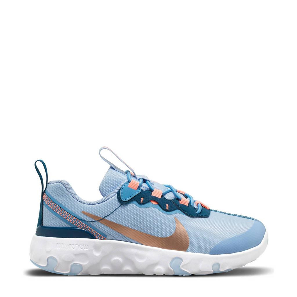 Nike RENew Element 55 - PS sneakers blauw/koper, Blauw/Koper