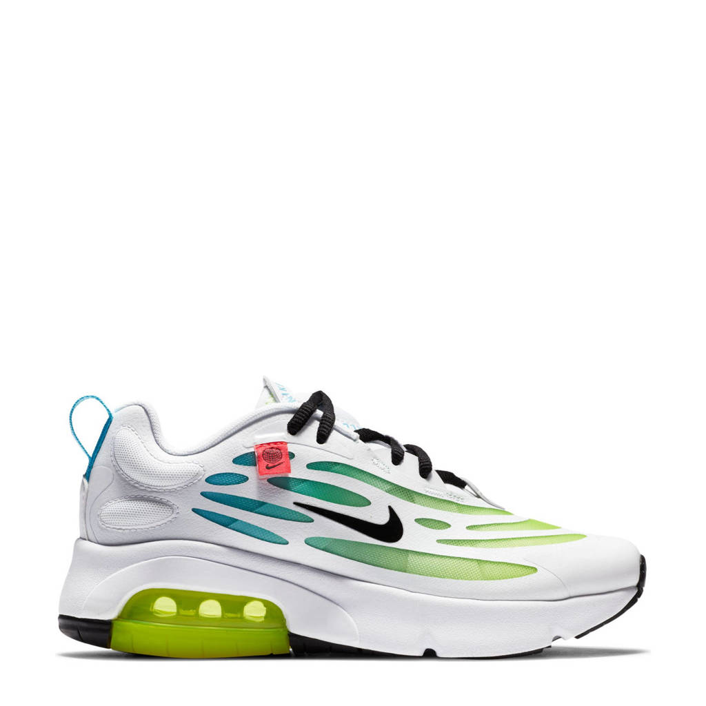 Nike Exosense  sneakers wit/blauw/geel, wit/blauw/beel