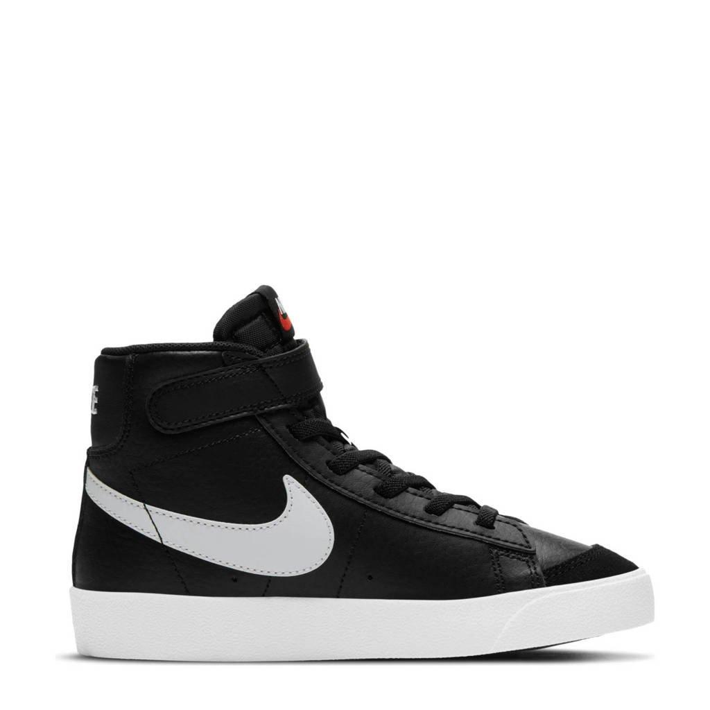 Nike Blazer Mid '77 sneakers zwart/wit, Zwart/wit