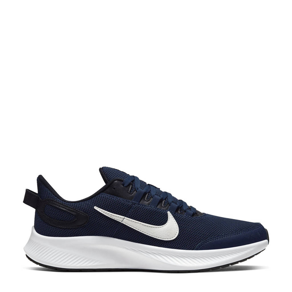 Nike Run All Day 2 hardloopschoenen donkerblauw/wit/zwart, Donkerblauw/wit/zwart