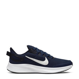 Run All Day 2 hardloopschoenen donkerblauw/wit/zwart