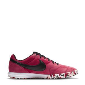 The Nike Premier II Sala Sr. zaalvoetbalschoenen rood/zwart/wit