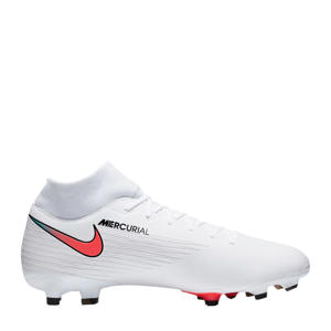 Superfly 7 Academy MG Sr. voetbalschoenen wit/rood