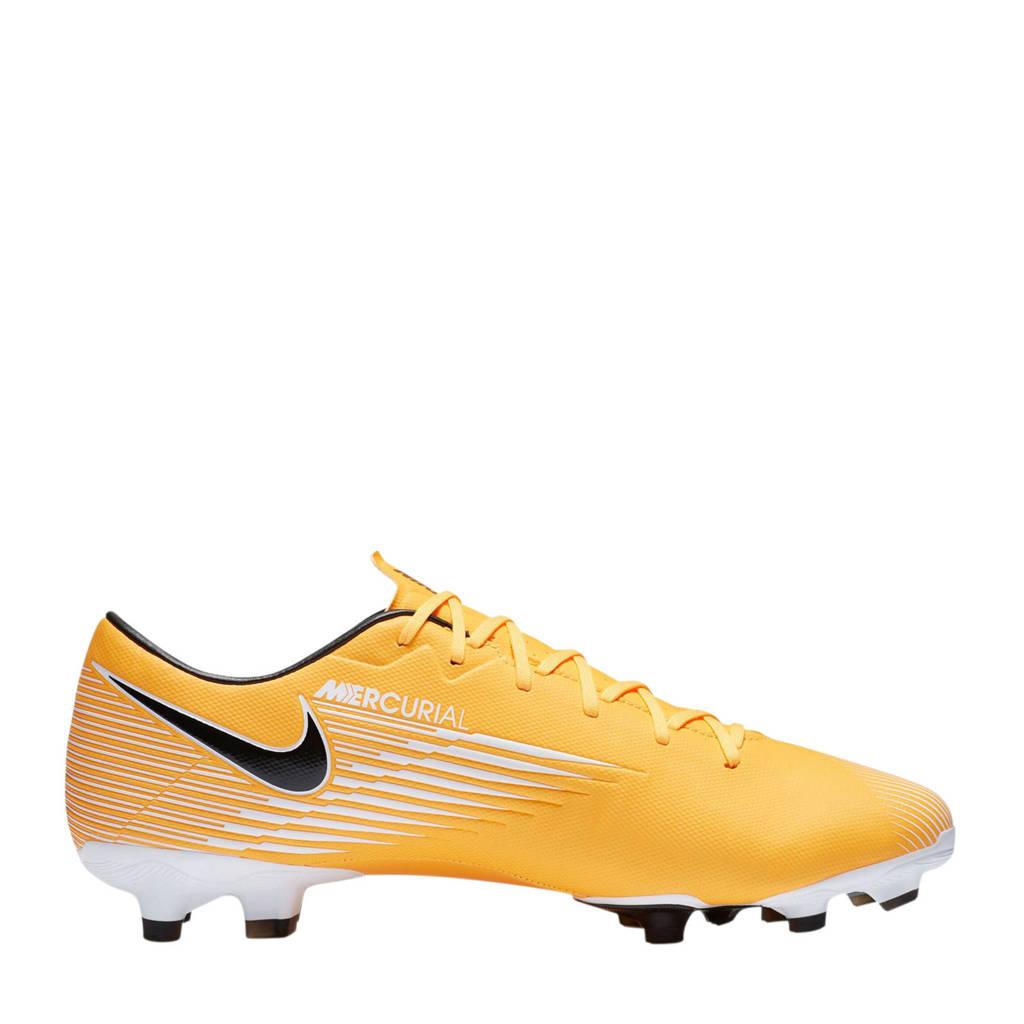 Nike Vapor 13 Academy FG/MG Sr. voetbalschoenen geel/wit, Geel/wit