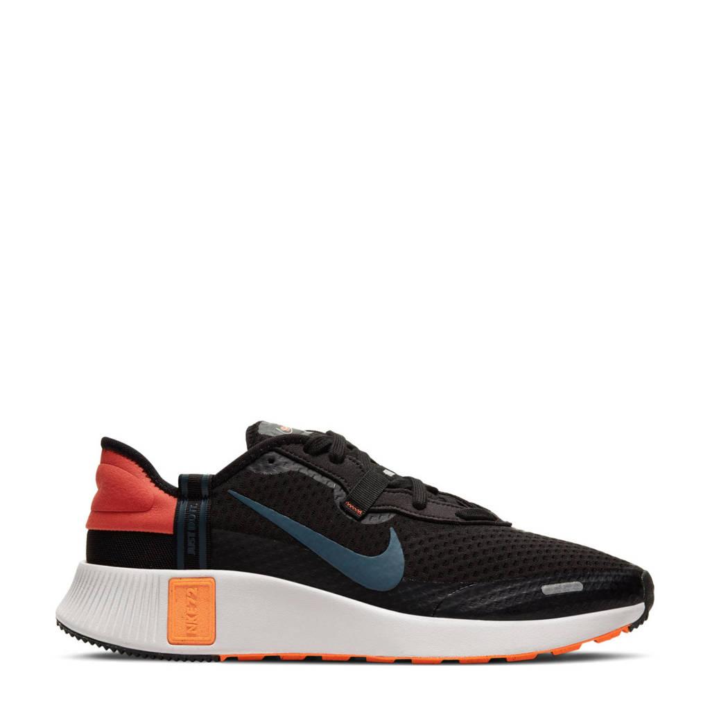 Nike Reposto  sneakers zwart/blauw/oranje, Zwart/blauw/oranje